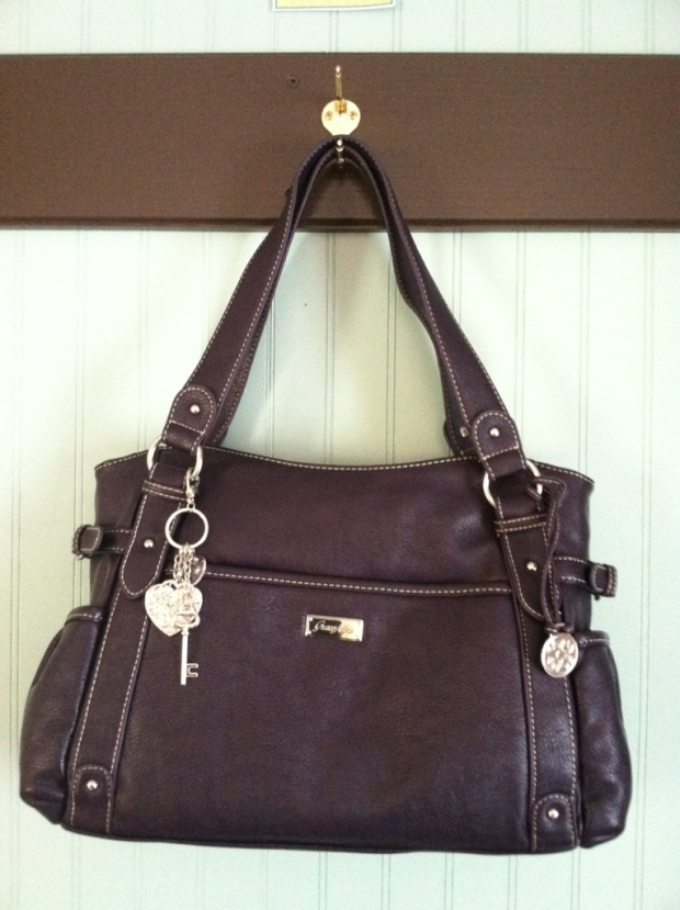 The Mary Grace Adele Purse in Purple